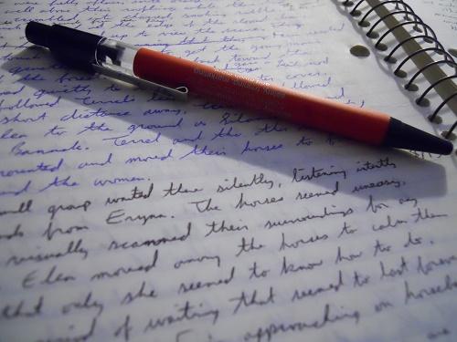 手書きのメッセージは心を込めて